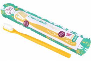 Brosse à dents rechargeable médium Jaune Lamazuna