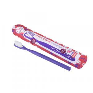 Brosse à dents rechargeable médium Violette Lamazuna