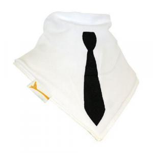 Bavoir Bandana  Suit Up Blanc