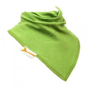 Bavoir Bandana  Uni vert