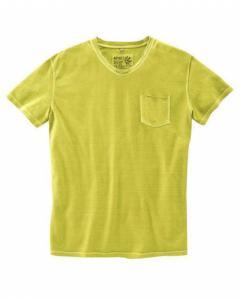 T-shirt col coupé franc Taille L
