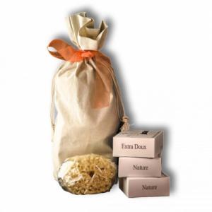 Coffret cadeau - 3 savons pour bébé