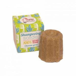Shampooing solide pour cheveux gras à la litsée citronnée