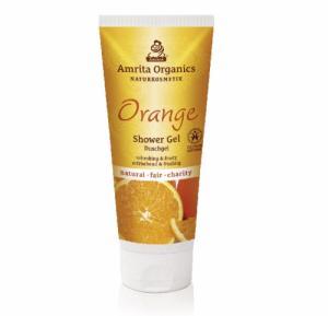 Gel douche à l'orange