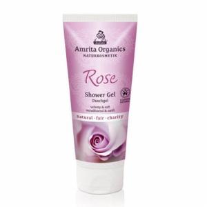 Gel douche à la rose