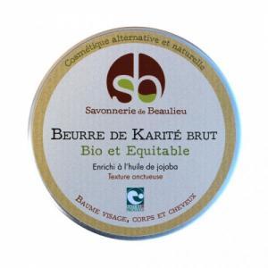 Beurre de KARITE BRUT bio- Enrichi à l'huile de Jojoba
