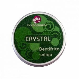 DENTIFRICE SOLIDE Crystal anti-tartre + boîte