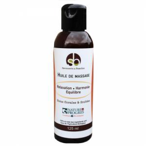 Huile de massage BIO - Relaxante et Harmonisante