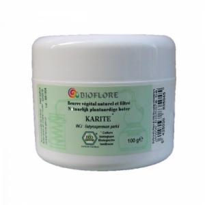Beurre de karité bio naturel filtré, 100g