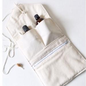 Pochette pliable en coton