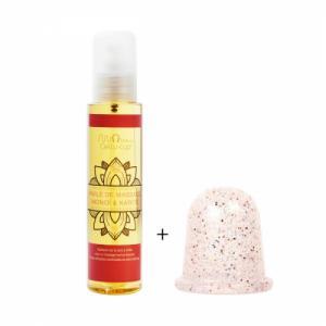 Duo Cellu-cup glitter et huile de massage - Anti Cellulite