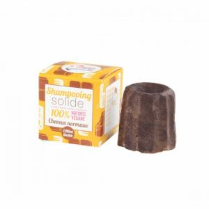 Shampoing solide au chocolat cheveux normaux