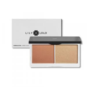 Kit de blush Cheek Duo Lily Lolo - CORALISTA