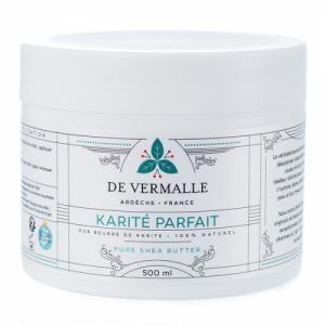 Karité Parfait - Beurre de Karité brut non raffiné 500 ml
