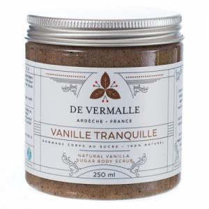 Vanille Tranquille - Gommage corps au sucre 100% naturel