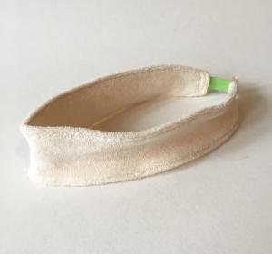 Bandeau Soins et démaquillage - Elastique couleur vert