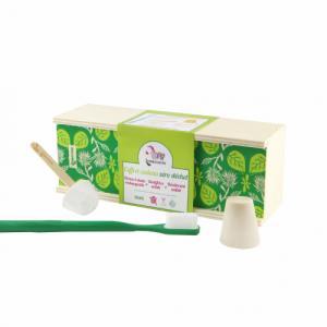Coffret zéro déchet brosse à dents, dentifrice et déodorant solides