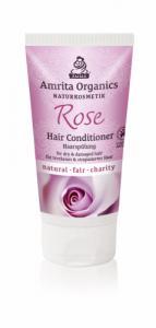 Après-shampoing à la rose - cheveux secs et abimés