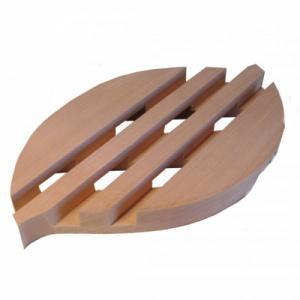Porte Savon Feuille en bois d'Erable