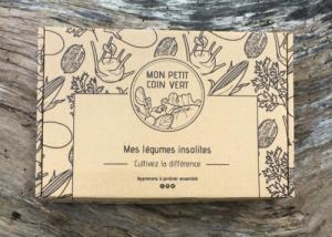 Coffret de jardinage - Mes légumes insolites