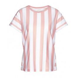 Ronja Block Stripes Blossom Pink White