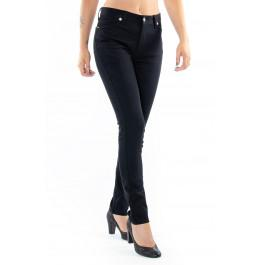 254 Fuselé Taille Haute Noir