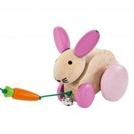 Hanna Hoppel petit lapin à traîner