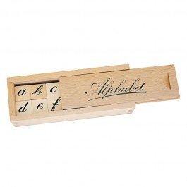 Alphabet en bois