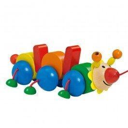 Bako jouet en bois à traîner