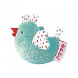 Doddy Le Poussin hochet turquoise