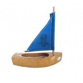Thonier Petit Mousse 17 cm voile bleue