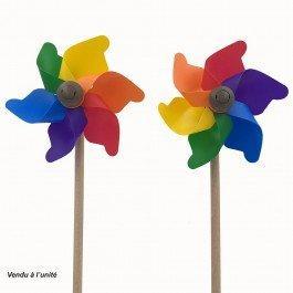 Moulin à vent Petite Fleur 11 cm