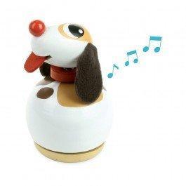 Boîte à musique Toutou Le Chien