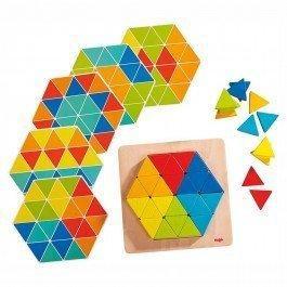 Jeu d'assemblage Triangles magiques