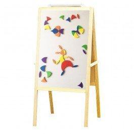 Maxi tableau en bois avec magnets Iotobo