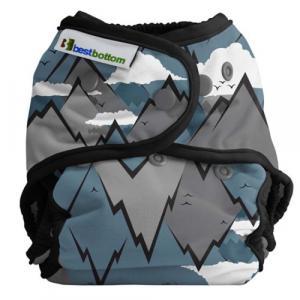 Couche lavable TE2 Taille Unique pressions  - Summit