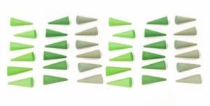 Jouets libres Mandala minis cônes en bois