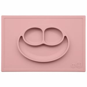 Assiette Antidérapante HAPPY Mat ROSE POUDRE