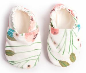 Chaussons souples bébé Peony