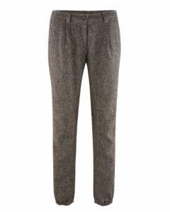 Pantalon à plis en coton bio et chanvre