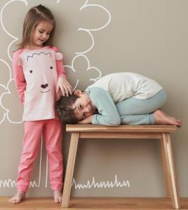 Pyjama mouton en coton bio