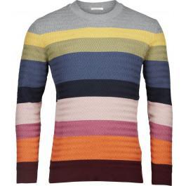 Multi color striped knit zig-zag Decadent Chokolade