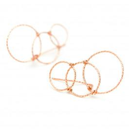 BO Cuff Fruits d'Or Infini Or Rose