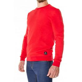 Sweat 303 BOB 1083 x LGF Rouge en fibres recyclées made in france -