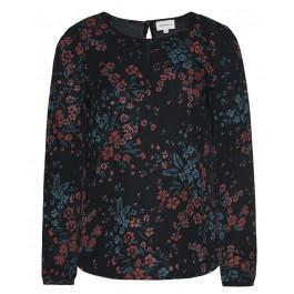 Ottilie Wild Flowers Black