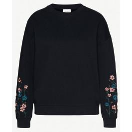 Manila Flower Sleeves Black