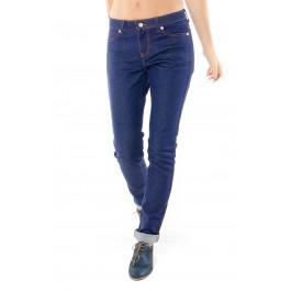 Jeans 203 coupe droite ajustée brut en coton bio Made in France -