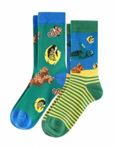 Pack de 2 paires de chaussettes pour enfant