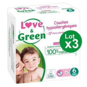 Love - Green 3x34 couches T6 +15kg