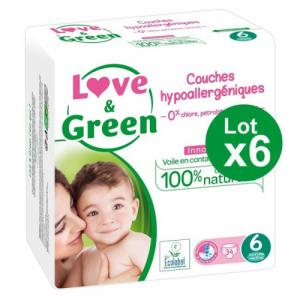 Love - Green 6x34 couches T6 +15kg